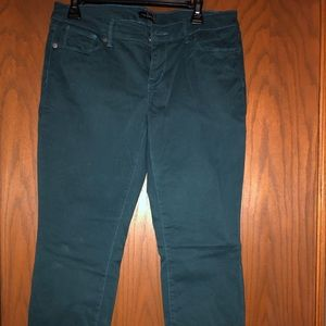 The limited teal green jeans size 8 VGUC